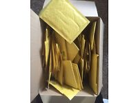 Box of Mail Lite Gold Sealable Padded Envelopes A/000