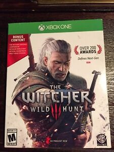 Witcher 3 xbox one Saguenay Saguenay-Lac-Saint-Jean image 1