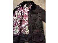 Barbour ladies wax jacket