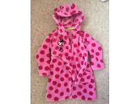 Mini mouse dressing gown 12/18 months