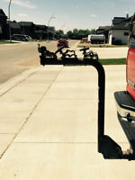 Hitch Mounted Bike Carrier - 3 Bikes