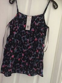 New Cami top size 12