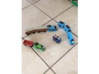 Thomas the tank engine train and carriage bundle