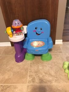 Fisher-Price laugh and learn toddler chair.