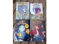 Futurama DVDs, Seasons 1-4