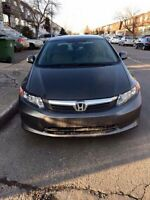 HONDA CIVIC 2012 Lease takeover LOW PMTS 268$ & 500$ incentive