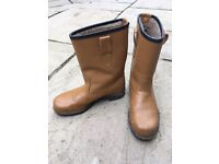 Rigger boots work winter safety