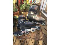 Bauer XHA In-line Skates size 8