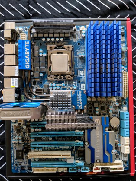 Intel Core™ i7-980X Motherboard 12GB DDR3 RAM