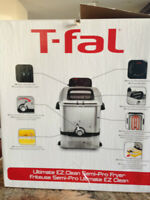 T-Fal Ultimate EZ Clean Pro Deep Fryer as new, I bought it aprox