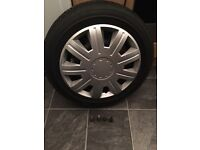 2x Michelin 165 65 14 snow winter tyres loads tred