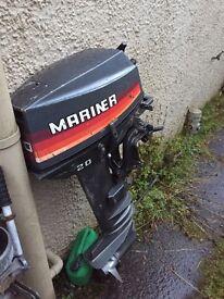 Mariner 20hp longshaft outboard