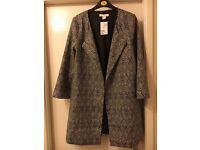 New Ladies H&M Jacket 3/4 Sleeves