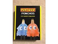 Pacman ponchos ghost Halloween fancy dress