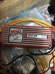 Msd 6a ignition control