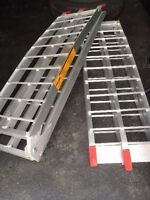 Two 500lb loading ramps.