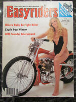 EASYRIDERS BIKER MAGAZINE JUNE 1986