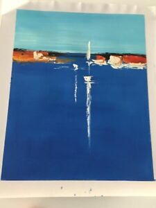 Abstract oil paintings on canvas ---$60 each Mornington Clarence Area Preview