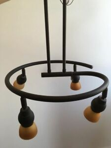 Black Chandelier Light Fixture