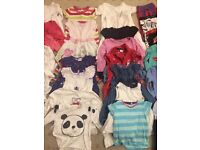 Baby girl's clothes bundle age 18-24 months (40 + items)