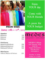 Join MEDES COLLEGE on Prom week!