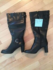 LifeStride Wide Calf Boots Sz 7 (brand new with tags)