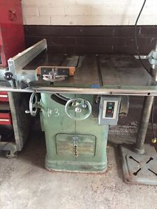 Delta table saw 3hp