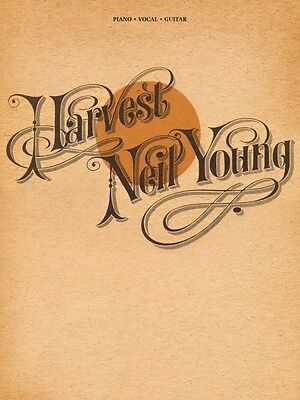 Neil Young Harvest Sheet Music Piano Vocal Guitar SongBook NEW 000119132