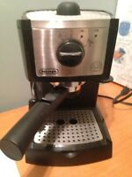Delonghi Espresso Maker & Milk Steamer