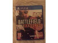 PS4 games GTA5, battlefield hardline, the uncharted, COD