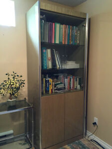 3 laquered wood wall units for sale West Island Greater Montréal image 1