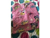 Minnie Mouse toddler bed duvet and pillowcase