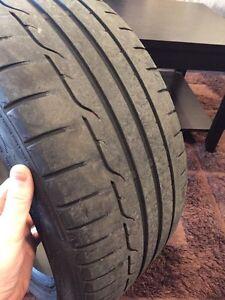 245/40R18 Dunlop Sport Maxx RT tires.