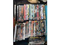 55 DVDs job lot