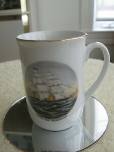 "VINTAGE COLLECTOR'S DECORATIVE MUG..""CLIPPER SHIP SWEEPSTAKES"""