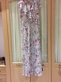 Beautiful ladies floral 'per Una' maxi dress.