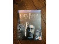 Harry Potter complete 8 film collection blu ray. New in cellophane packaging