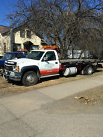 roll off tow truck