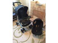 Travel system (pushchair + car seat )