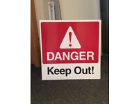 Danger Keep Out Signs