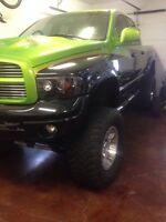 2004 Dodge Power Ram 2500 Monster Green Pickup Truck