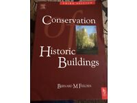 Conservation of historic buildings BOOK