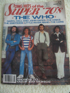 "1979 MAG.COLLECTIBLE..""SONG HITS of the SUPER '70's"""