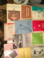 BIG BOX of MUSIC STUDY MATERIAL AND SHEET MUSIC