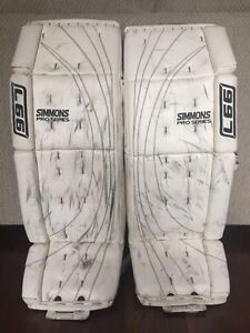 SIMMONS 997 PRO SERIES  GOALIE PADS