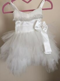 Child's wedding/christening dress