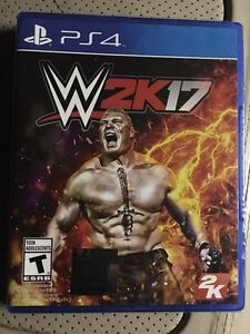 Brand new sealed WWE 2K17 PS4
