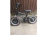 """Boys 14"""" wheel bike"""