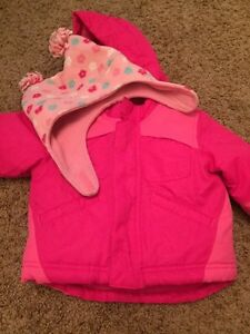 Girls coat and hat