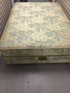 Gold double size mattress&base ensemble can deliver Coopers Plains Brisbane South West Preview
